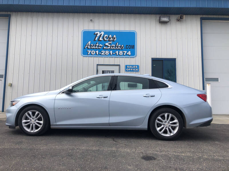 2018 Chevrolet Malibu for sale at NESS AUTO SALES in West Fargo ND