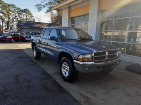 2004 Dodge Dakota for sale at PIRATE AUTO SALES in Greenville NC