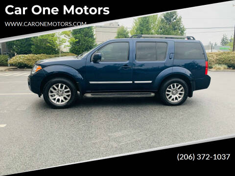 2010 Nissan Pathfinder for sale at Car One Motors in Seattle WA