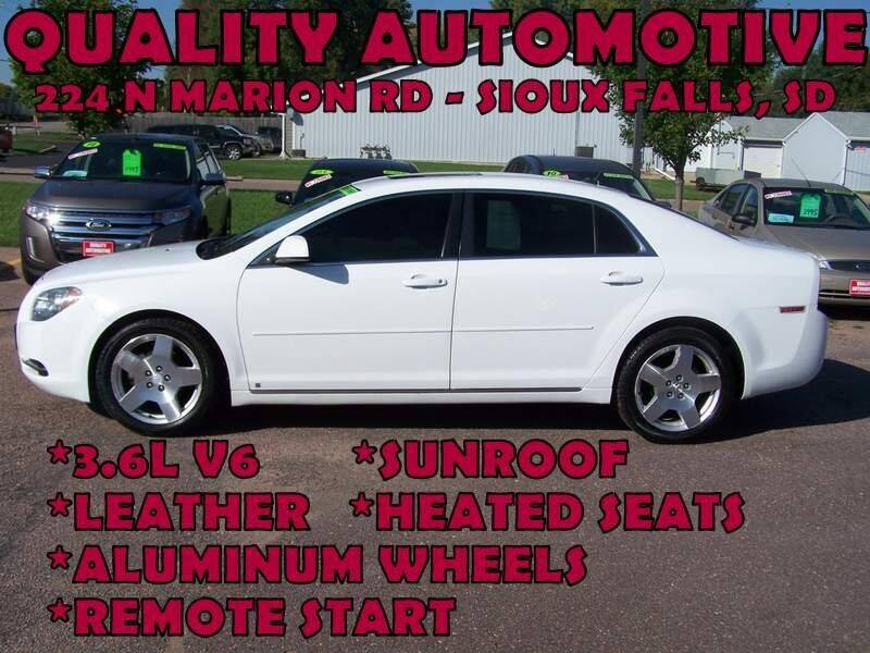 2010 Chevrolet Malibu for sale at Quality Automotive in Sioux Falls SD