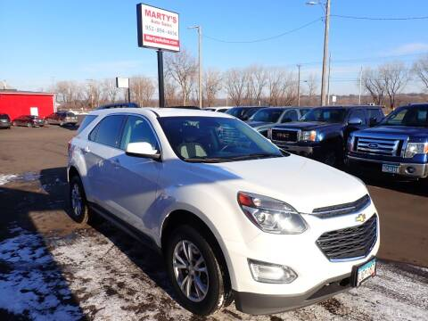 2017 Chevrolet Equinox for sale at Marty's Auto Sales in Savage MN