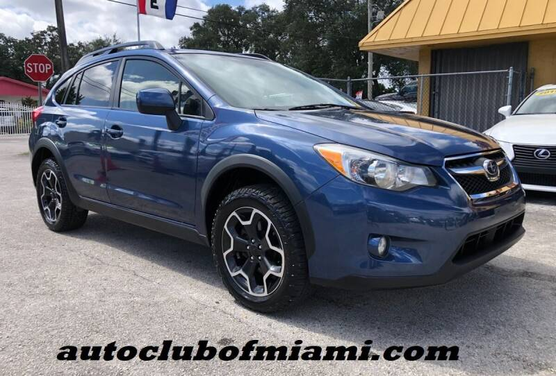2013 Subaru XV Crosstrek for sale at AUTO CLUB OF MIAMI, INC in Miami FL