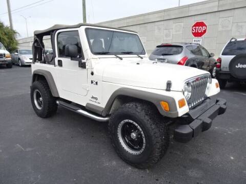 2005 Jeep Wrangler for sale at DONNY MILLS AUTO SALES in Largo FL