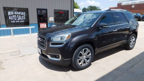 2015 GMC Acadia for sale at Mid Kansas Auto Sales in Pratt KS