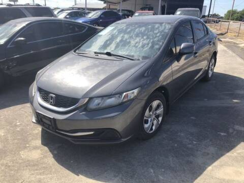 2013 Honda Civic for sale at RIVERCITYAUTOFINANCE.COM in New Braunfels TX