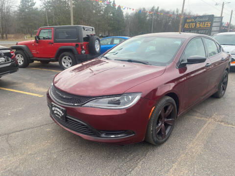 2016 Chrysler 200 for sale at Affordable Auto Sales in Webster WI