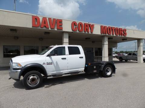 2018 RAM Ram Chassis 5500 for sale at DAVE CORY MOTORS in Houston TX