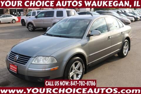 2004 Volkswagen Passat for sale at Your Choice Autos - Waukegan in Waukegan IL