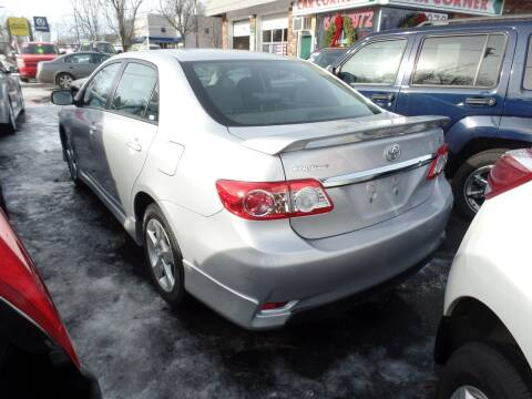 2012 Toyota Corolla for sale at CAR CORNER RETAIL SALES in Manchester CT