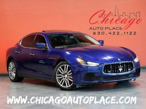 2015 Maserati Ghibli for sale at Chicago Auto Place in Bensenville IL