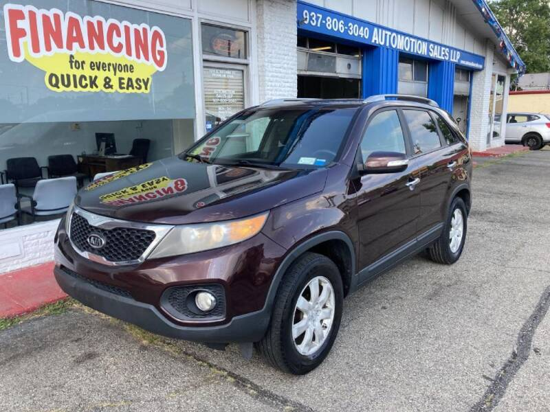 2011 Kia Sorento for sale at AutoMotion Sales in Franklin OH