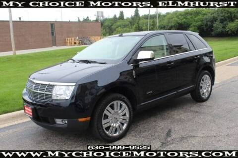2008 Lincoln MKX for sale at My Choice Motors Elmhurst in Elmhurst IL