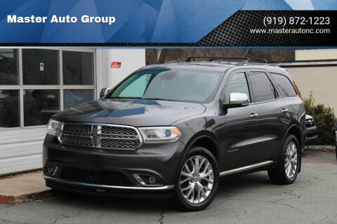 2015 Dodge Durango for sale at Master Auto Group in Raleigh NC
