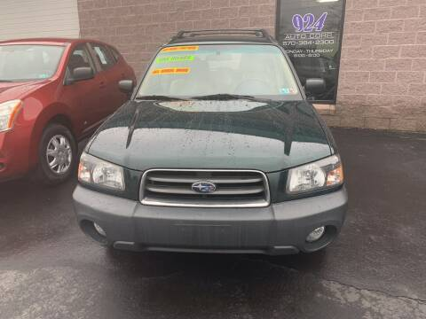 2005 Subaru Forester for sale at 924 Auto Corp in Sheppton PA