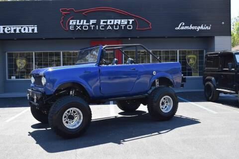 1963 International Scout for sale at Gulf Coast Exotic Auto in Biloxi MS