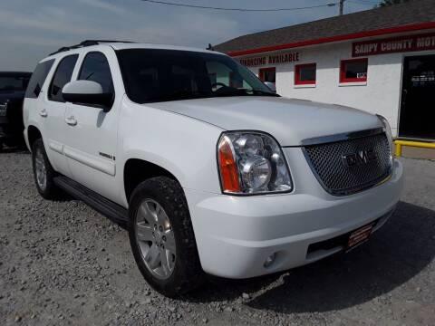 2007 GMC Yukon for sale at Sarpy County Motors in Springfield NE