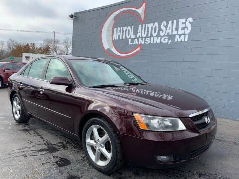 2006 Hyundai Sonata for sale at Capitol Auto Sales in Lansing MI