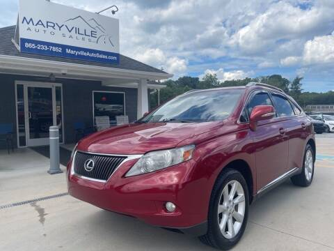 2010 Lexus RX 350 for sale at Maryville Auto Sales in Maryville TN