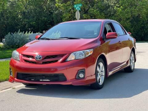 2012 Toyota Corolla for sale at L G AUTO SALES in Boynton Beach FL