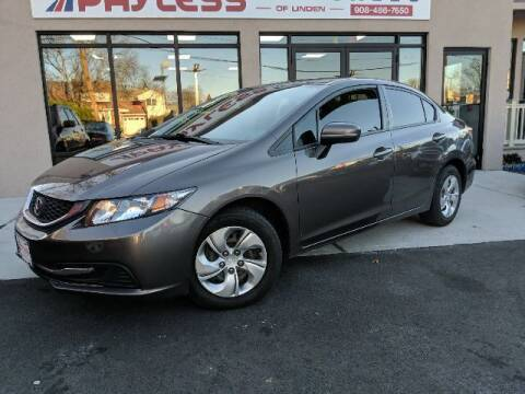 2014 Honda Civic for sale at PAYLESS CAR SALES of South Amboy in South Amboy NJ