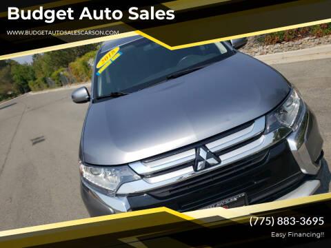 2018 Mitsubishi Outlander for sale at Budget Auto Sales in Carson City NV