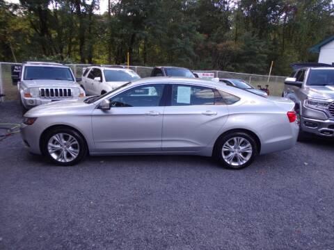 2014 Chevrolet Impala for sale at RJ McGlynn Auto Exchange in West Nanticoke PA