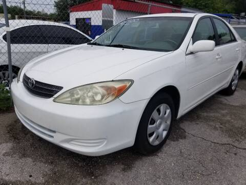2003 Toyota Camry for sale at Fantasy Motors Inc. in Orlando FL