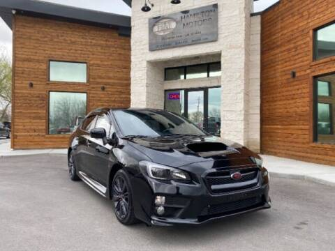 2016 Subaru WRX for sale at Hamilton Motors in Lehi UT