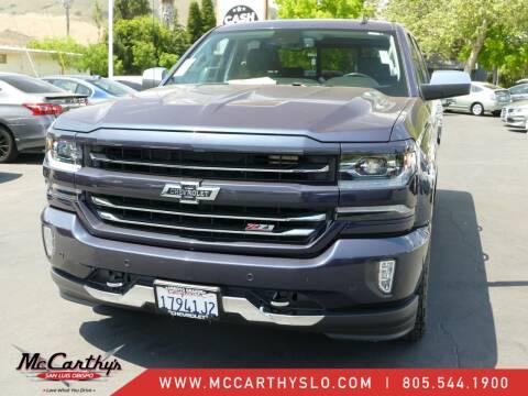 2018 Chevrolet Silverado 1500 for sale at McCarthy Wholesale in San Luis Obispo CA