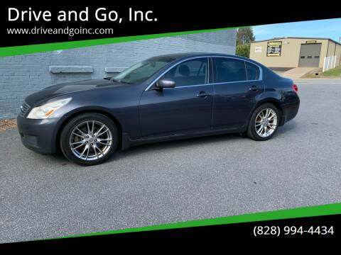 2007 Infiniti G35 for sale at Drive and Go, Inc. in Hickory NC