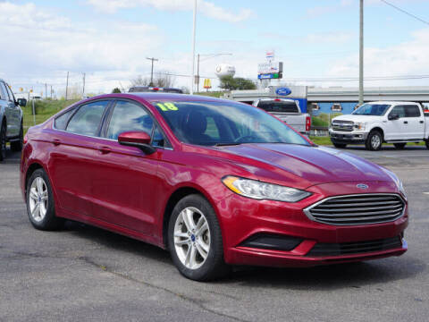 2018 Ford Fusion for sale at FOWLERVILLE FORD in Fowlerville MI