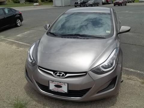 2016 Hyundai Elantra for sale at Gilliam Motors Inc in Dillwyn VA