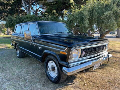 1977 Jeep Wagoneer for sale at Dodi Auto Sales in Monterey CA