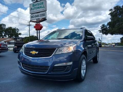 2014 Chevrolet Traverse for sale at BAYSIDE AUTOMALL in Lakeland FL