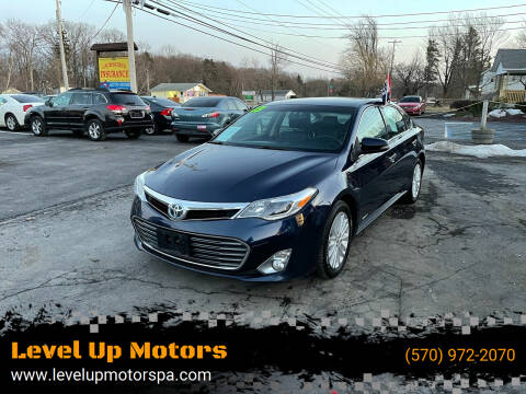 2013 Toyota Avalon Hybrid for sale at Level Up Motors in Tobyhanna PA