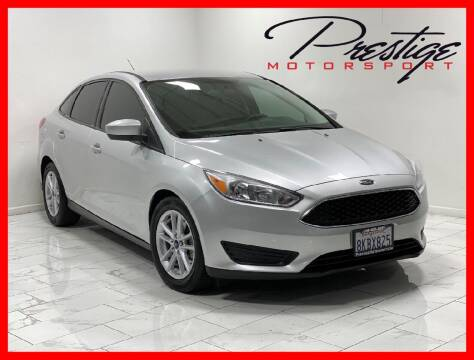 2018 Ford Focus for sale at Prestige Motorsport in Rancho Cordova CA