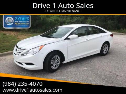 2012 Hyundai Sonata for sale at Drive 1 Auto Sales in Wake Forest NC