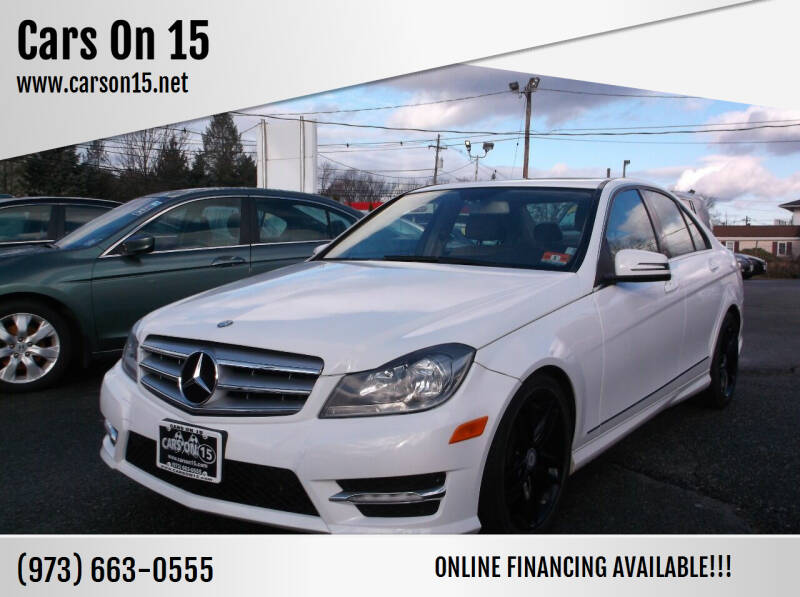 2013 Mercedes-Benz C-Class for sale at Cars On 15 in Lake Hopatcong NJ