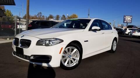 2014 BMW 5 Series for sale at LA Motors LLC in Denver CO