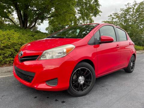 2012 Toyota Yaris for sale at William D Auto Sales in Norcross GA
