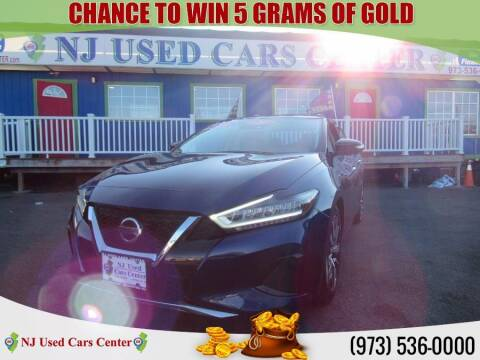 2020 Nissan Maxima for sale at New Jersey Used Cars Center in Irvington NJ