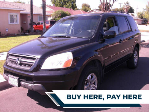 2005 Honda Pilot for sale at ZOOM CARS LLC in Sylmar CA