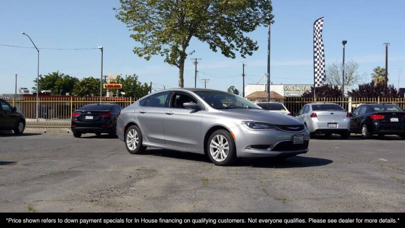 2016 Chrysler 200 for sale at Westland Auto Sales in Fresno CA