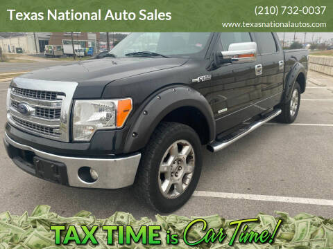 2013 Ford F-150 for sale at Texas National Auto Sales in San Antonio TX