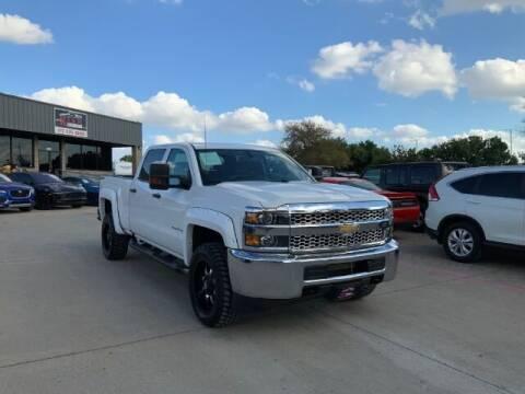 2019 Chevrolet Silverado 2500HD for sale at KIAN MOTORS INC in Plano TX