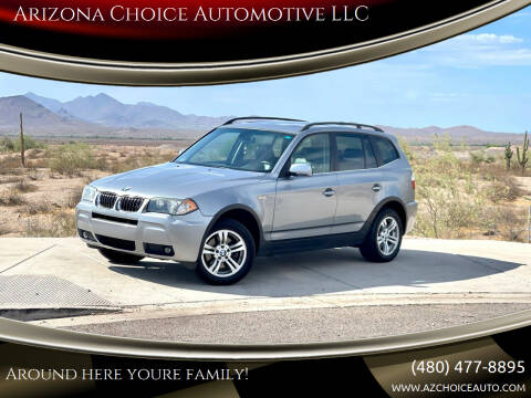 2006 BMW X3 for sale at Arizona Choice Automotive LLC in Mesa AZ