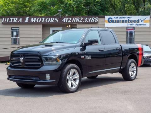 2015 RAM Ram Pickup 1500 for sale at Ultra 1 Motors in Pittsburgh PA