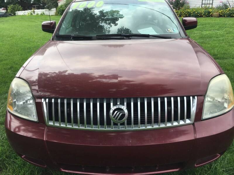 2005 Mercury Montego for sale at BIRD'S AUTOMOTIVE & CUSTOMS in Ephrata PA