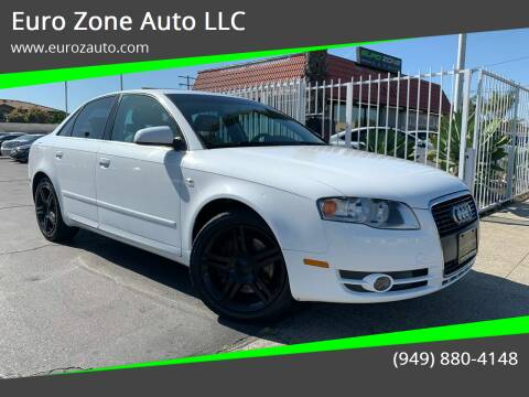 2007 Audi A4 for sale at Euro Zone Auto in Stanton CA
