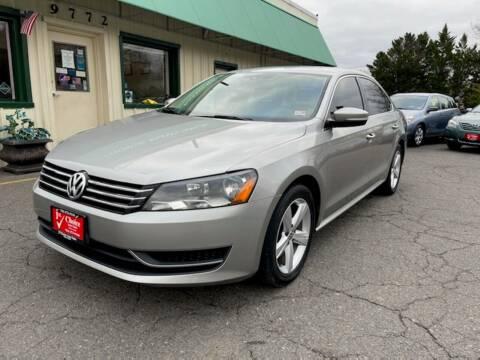 2013 Volkswagen Passat for sale at 1st Choice Auto Sales in Fairfax VA
